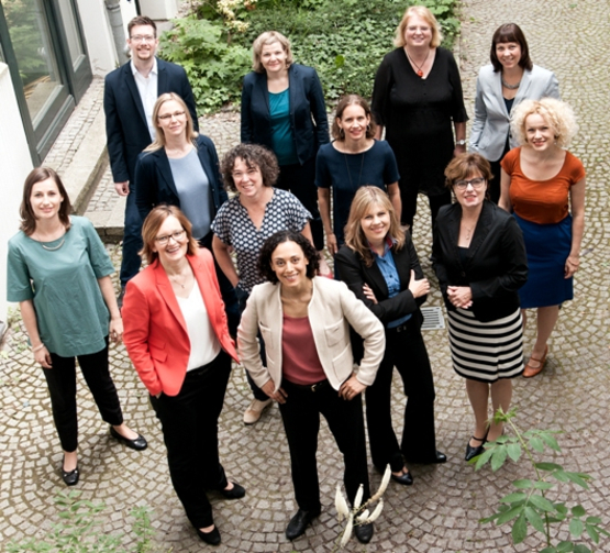 Das Team der EAF BErlin. Diversity in Leadership